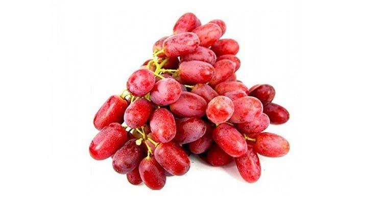 calorias da uva crimson
