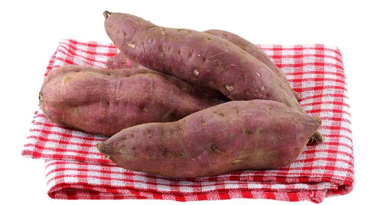 dicas de como escolher batata-doce