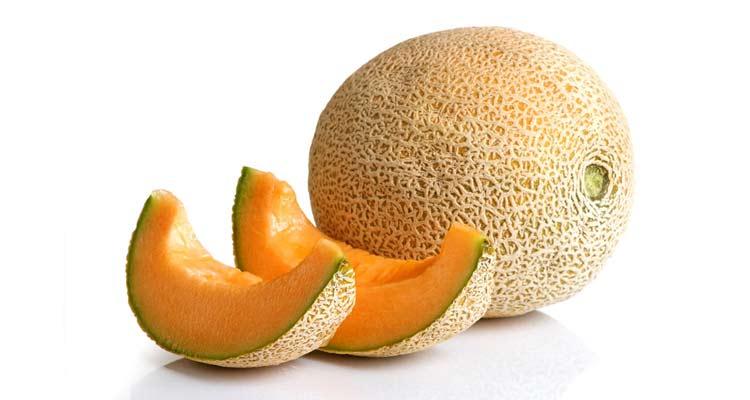 como escolher melão orange