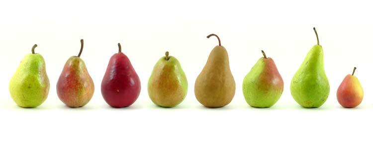 benefícios da pera para o coração