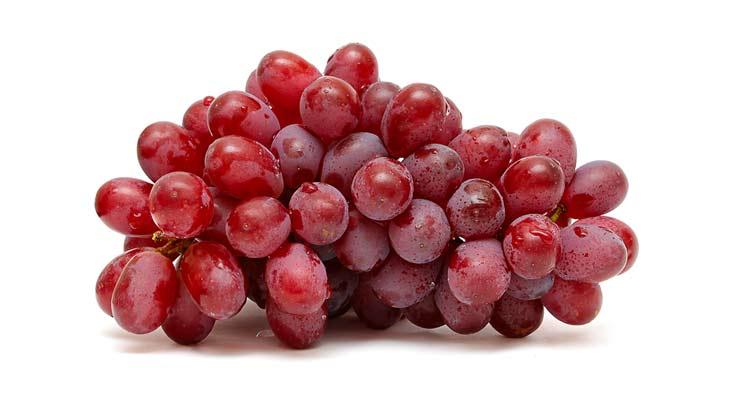 calorias da uva red globe