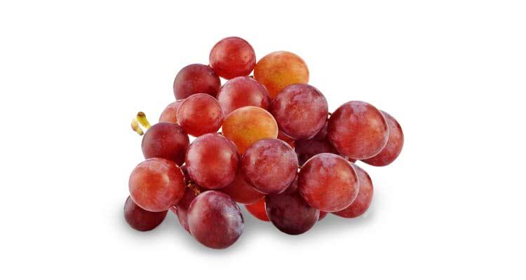 calorias da uva rubi