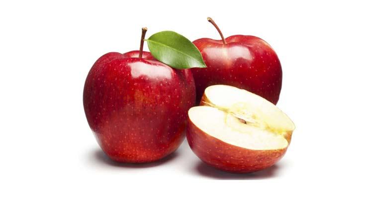 quantas calorias tem uma maçã red argentina
