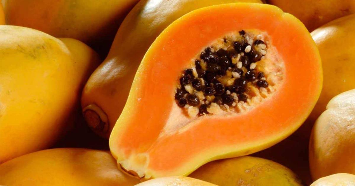 frutas que emagrecem mamão