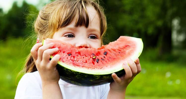 Calorias da melancia - Criança
