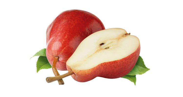 quantas calorias tem uma pera red