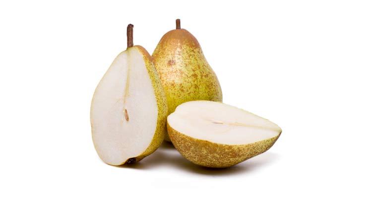 quantas calorias tem uma pera portuguesa