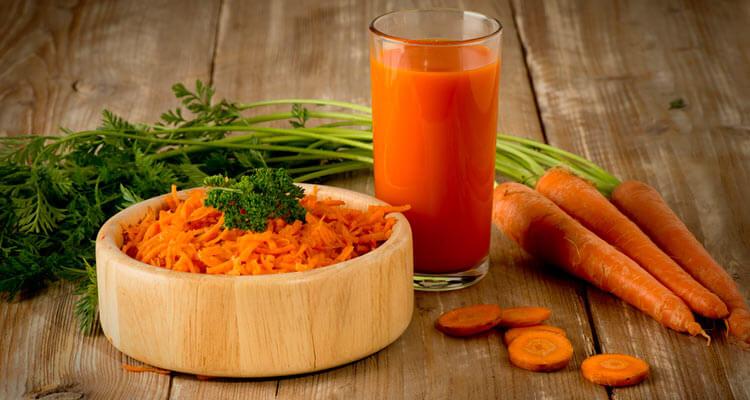 calorias da cenoura